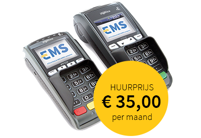 EMS contactloze betaalautomaat iCT250 - iPP350