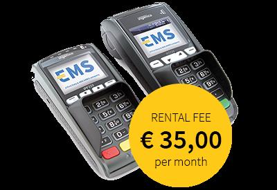 EMS contactless payment terminal iCT250 - iPP350
