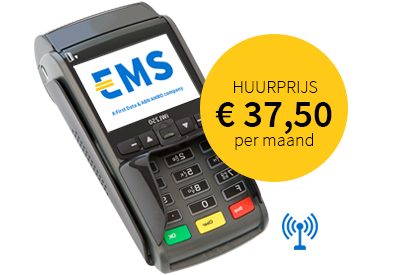 EMS contactloze betaalautomaat iWL250 GPRS