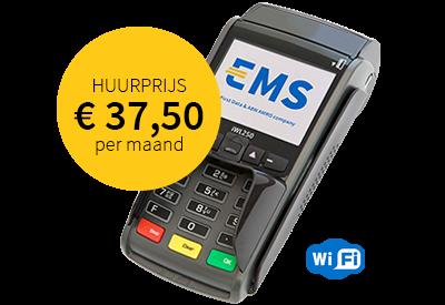 EMS contactloze betaalautomaat iWL250 WiFi