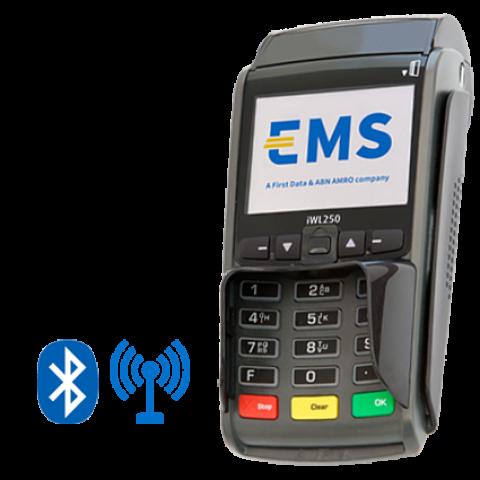 iWL250 mobiele BT GPRS betaalautomaat