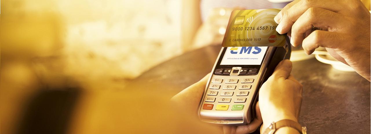 Contactloos betalen kan met alle EMS betaalautomaten